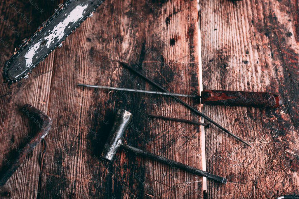 Rustic tools