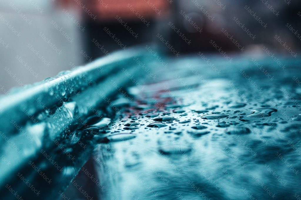 Droplet on the car