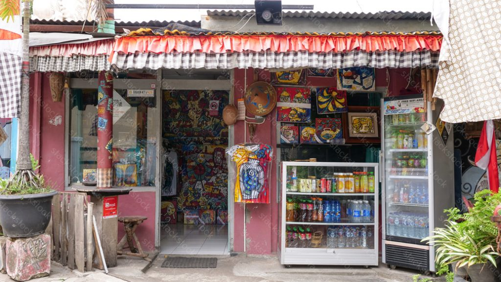 Small market in Jogjakarta, Indonesia