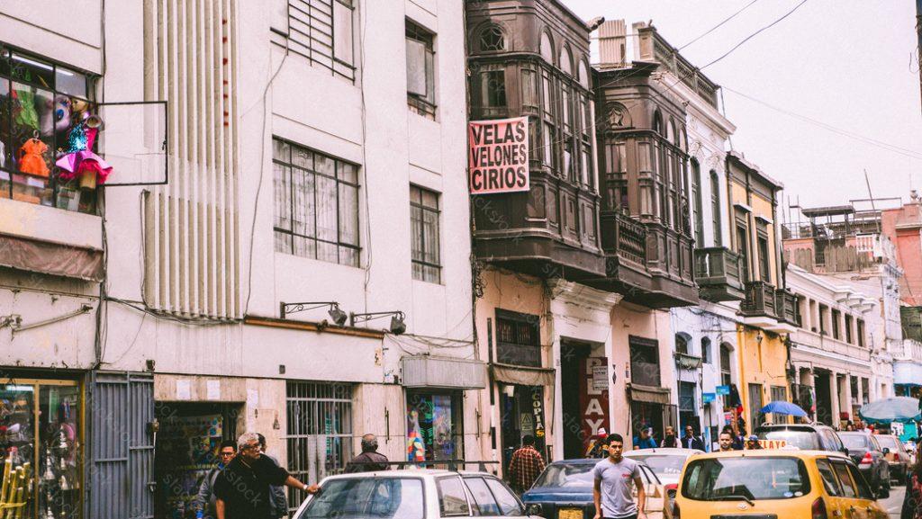 Street of Lima, Peru
