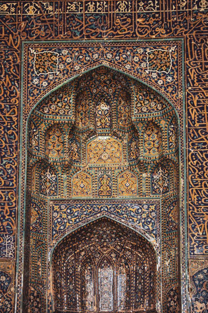 Bukhara, Uzbekistan. Design. Pattern