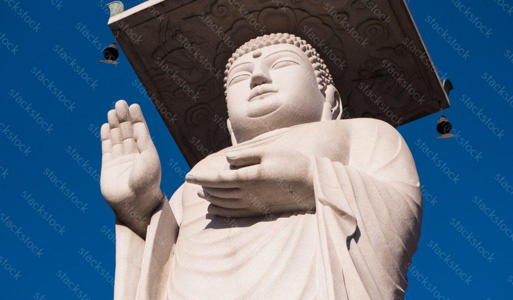 Buddha statue in Seoul