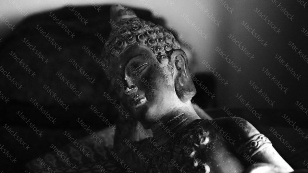 Small Stone Buddha Statue