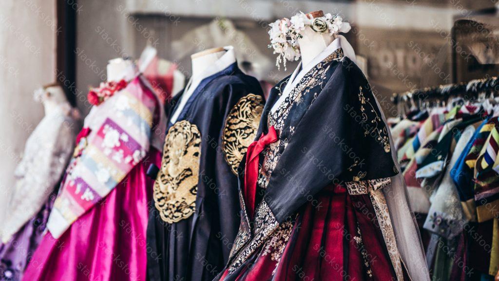 Hanbok Korean traditional clothing. Korea, beauty.
