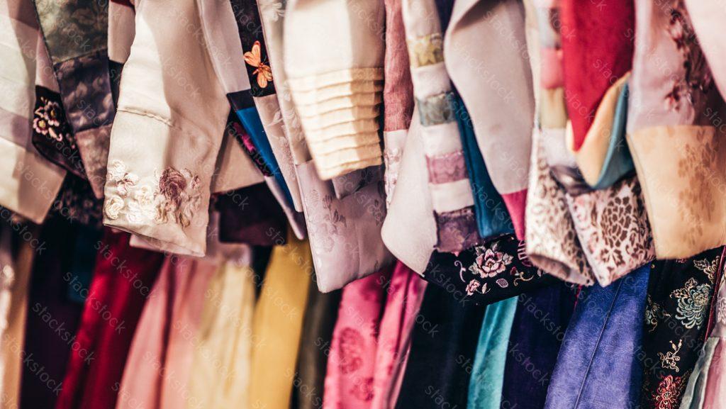 Hanbok Korean traditional clothing. Korea, beauty