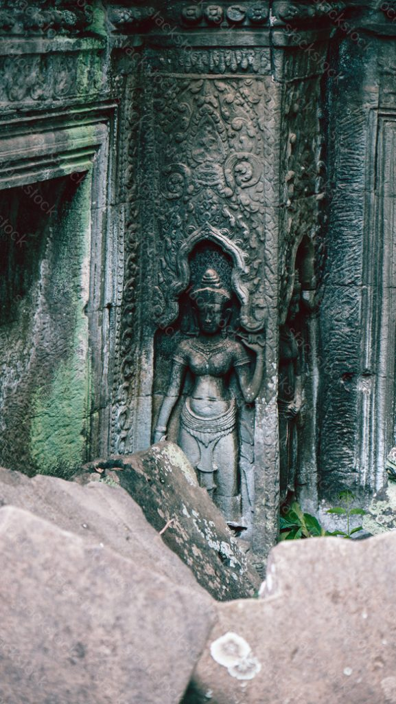 Apsara Carving. Cambodia