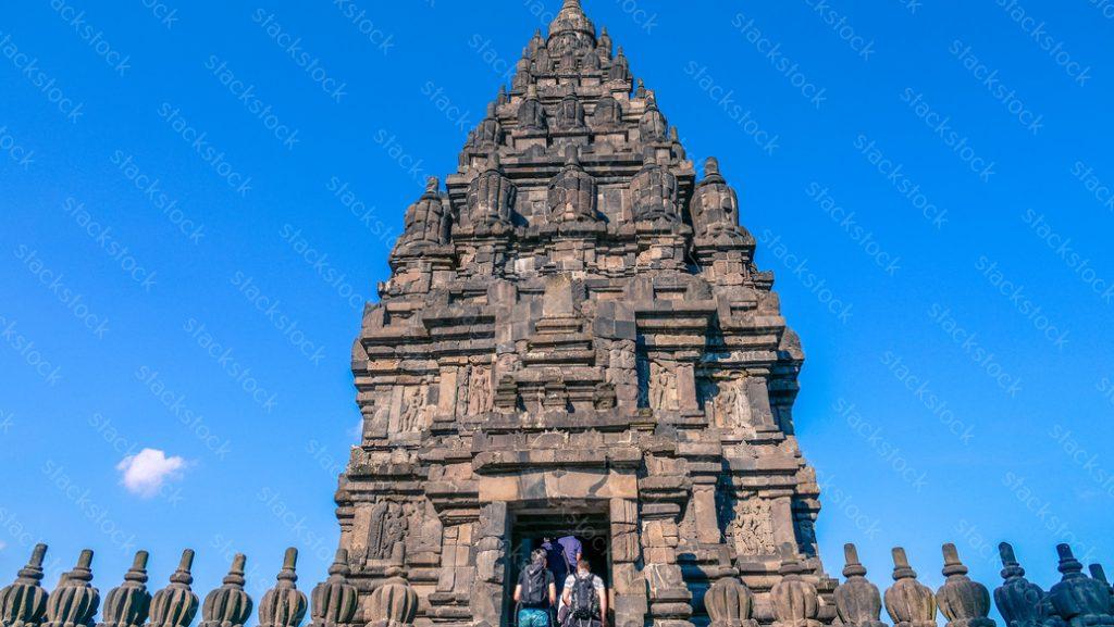 Prambanan Temple. Tourist. Indonesia