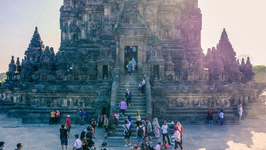 Prambanan Temple Compounds in Yogyakarta, Indonesia