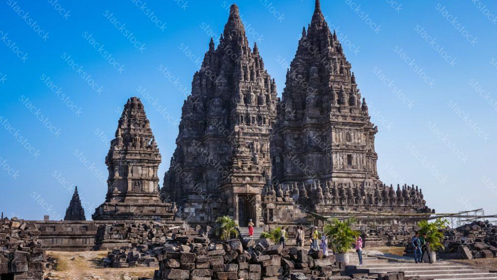 Prambanan is a hindhu temple at Yogyakarta Indonesia